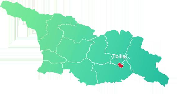 Map Of Republic Of Georgia.About Georgia Invest In Georgia